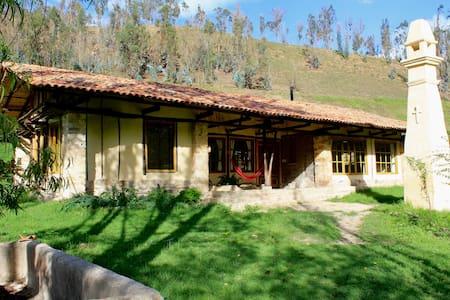 El Establo, hermosa casa campestre - Turmequé