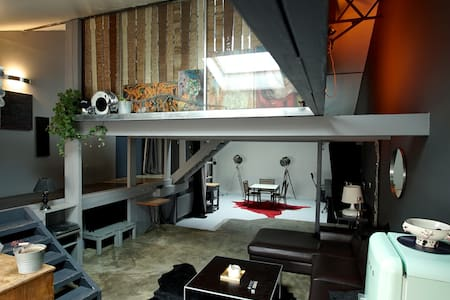 Luminous loft in a quiet street - Montreuil - Loft