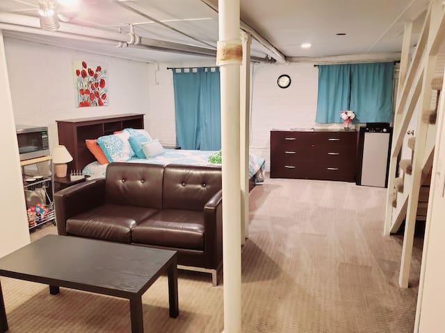 ♥Capitol Hill♥ Near Metro | Private Suite