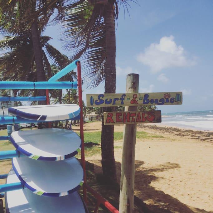 True blue surf town we love