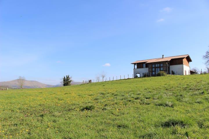 Maison spacieuse avec jardin - Suhescun - Huis