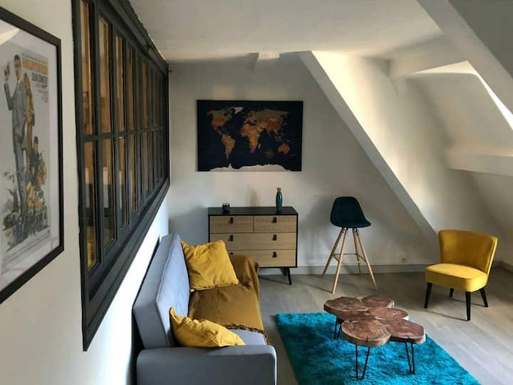 Appartement atypique au centre de Chambéry
