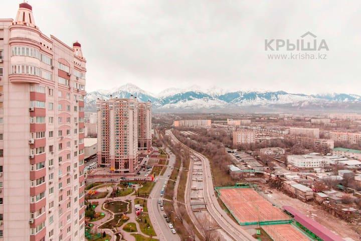 2к Квартира в ЖК Mega tower Almaty - Алматы - Apartment
