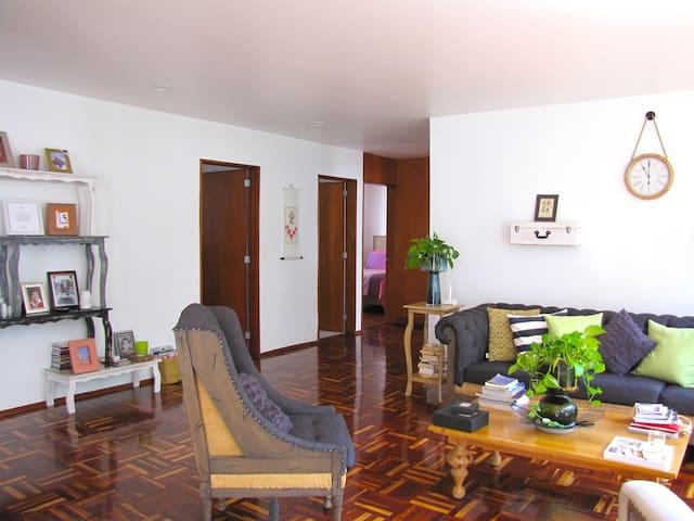 Cool, peaceful & cozy room -Polanco