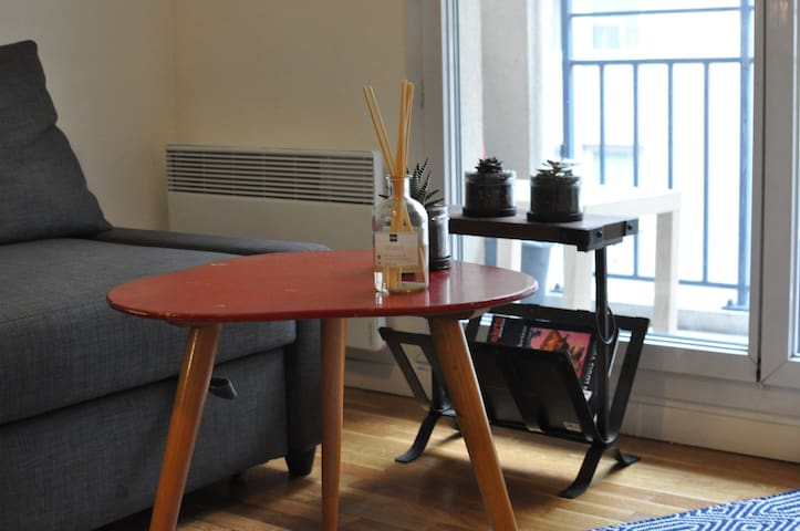 Modern, practical and cosy in the 6th - Lyon - Apartament