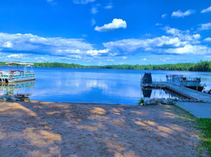 Newly remodeled lake home on ATV/snowmobile trail