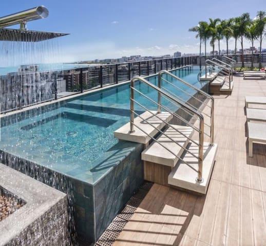 Luxo e comodidade no melhor da Ponta Verde Ed Time