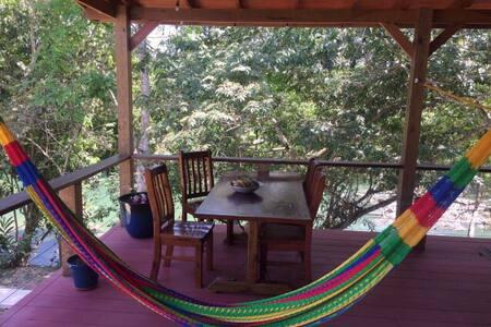 Private Riverside Cabin #2 - Bullet Tree Falls - Bungalow