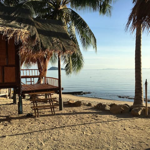 Castaway Beach Bungalows - Right on the Beach! - Ko Pha-ngan - (ukendt)