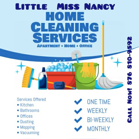 Let We Do The Cleaning For You!
