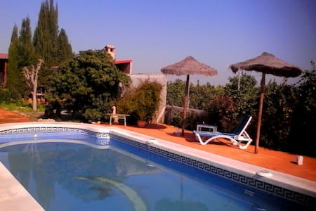 Habitación con cama de 105 en casa - Murcia - Dom
