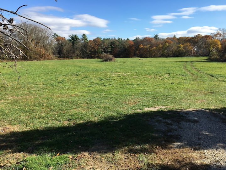 15 Acres of Open Fields &  15 Minutes to the Beach