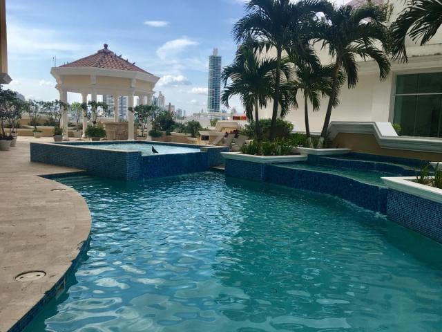 Hospédate cerca de TODO en Panamá