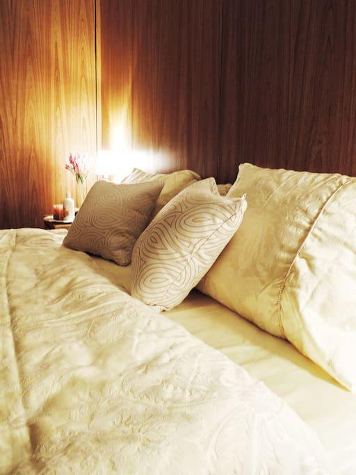 King size / 特加大金革名床,好好享受一夜好眠