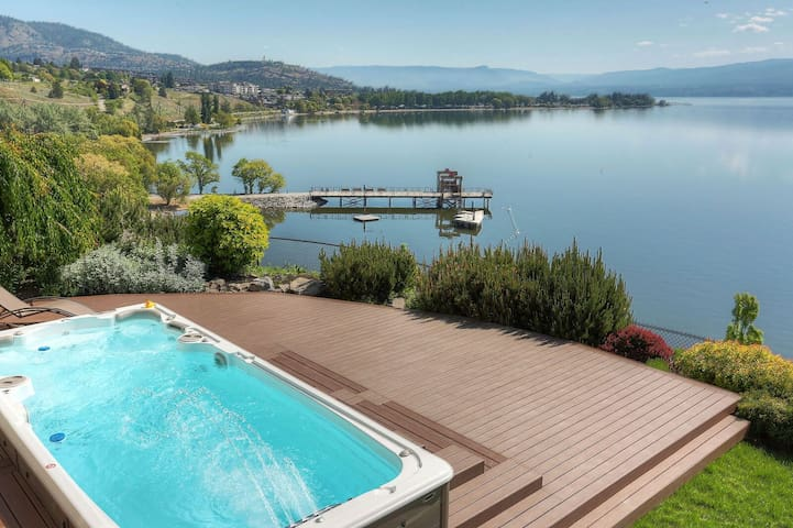 Lakeview,Heated Spa Pool,Sauna,Beach & Boat Rental