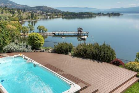 Lakeview,Heated Spa Pool,Sauna,Beach & Boat Rental