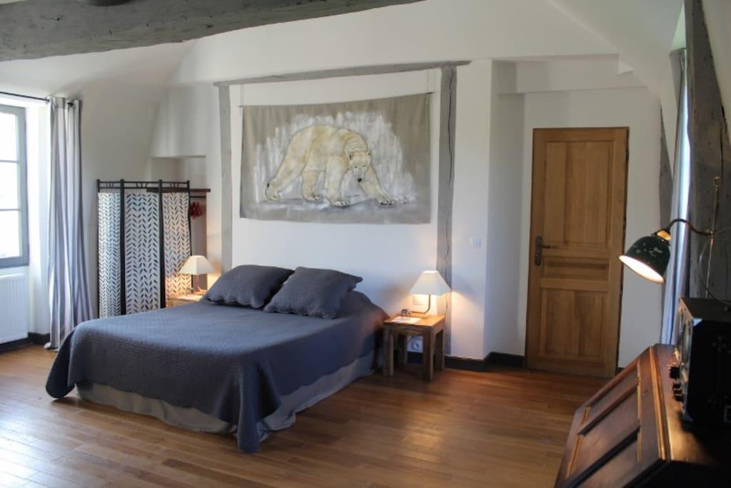 Belle chambre de charme au ch teau chambres d 39 h tes for Louer chambre sans fenetre