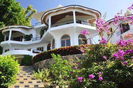 Oceanfront Villa with Stunning View - La Peñita de Jaltemba