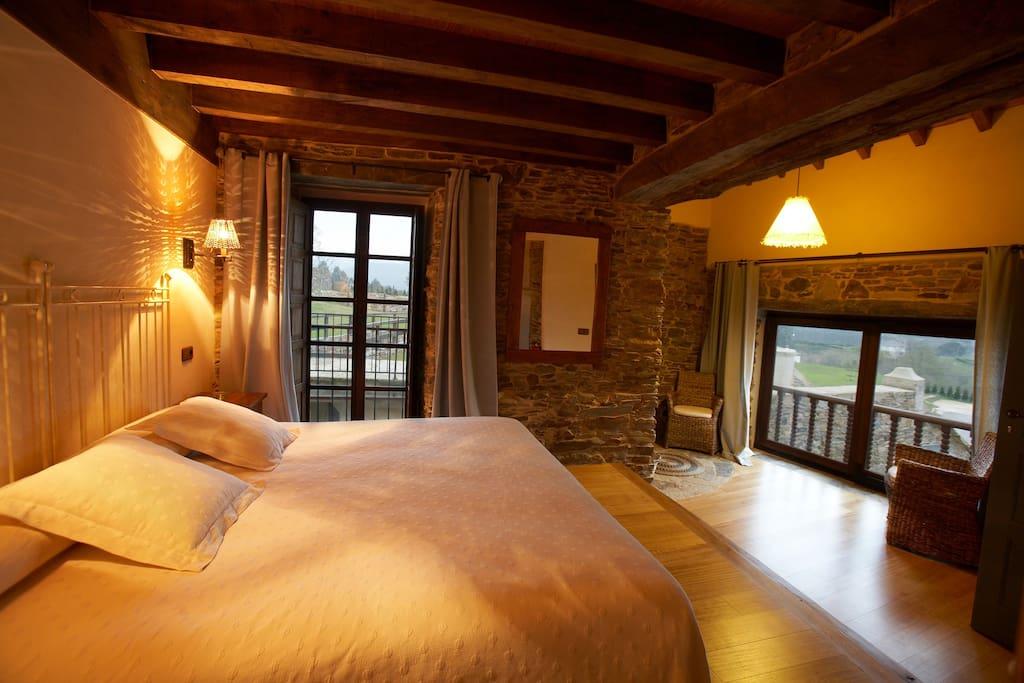 9 habitaciones amplias y confortables.