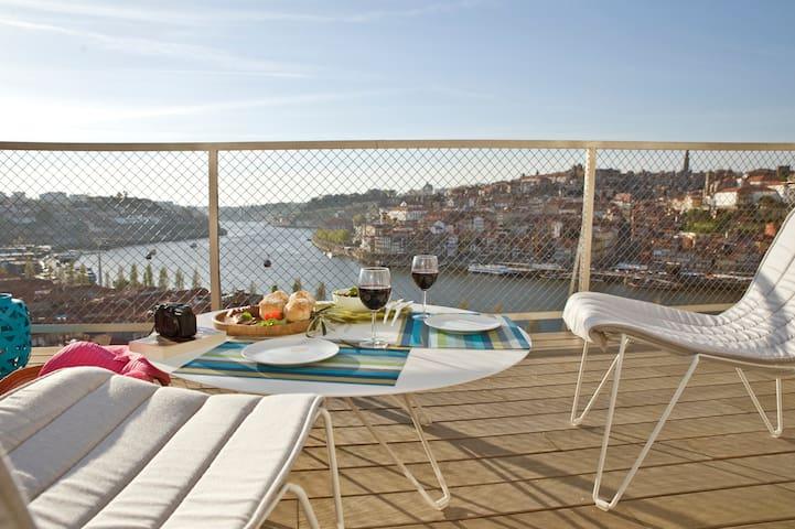 Porto Vista Townhouse -Possibly Best Views of city