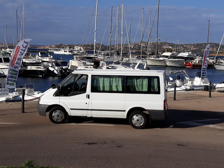 Van Sleep and Drive Palau-Olbia Nord Sardegna!!!