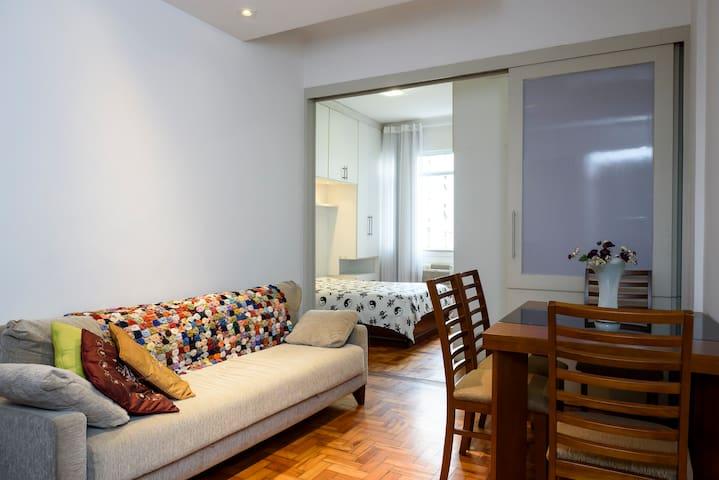 Apartamento posto 6 copacabana