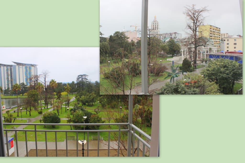 Виды с балкона