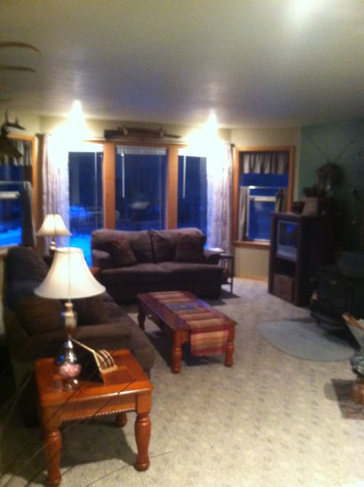 One of the Two,front rooms. plus Four bedrooms