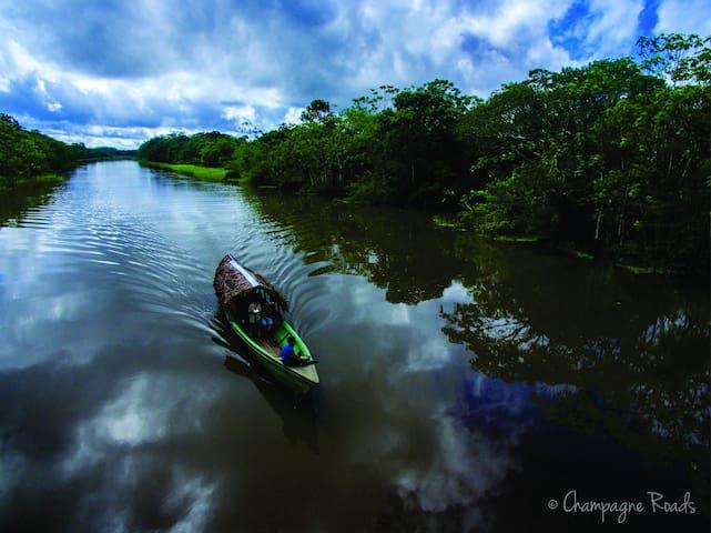 Amak Iquitos.  Villa & Experiecias