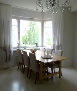 Spacious apartment with huge view! - Savonlinna