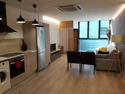 Apartamento muy luminoso para dos personas