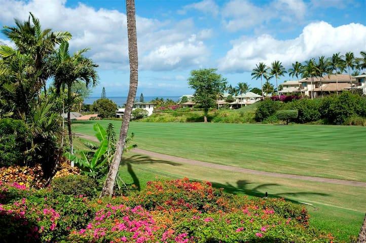 Wailea Grand Champions 1 Bed - Ocean & Golf Views! - Kihei - Byt