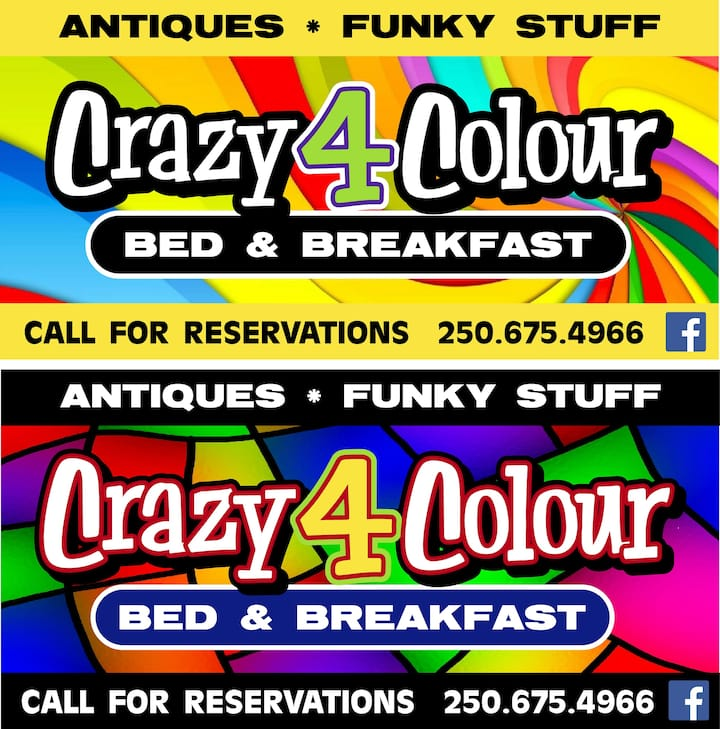 Crazy4ColourB&B Room2