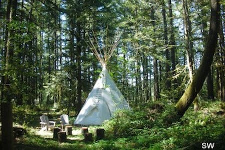 Sacagawea Tipi at Tipi Village - Marcola