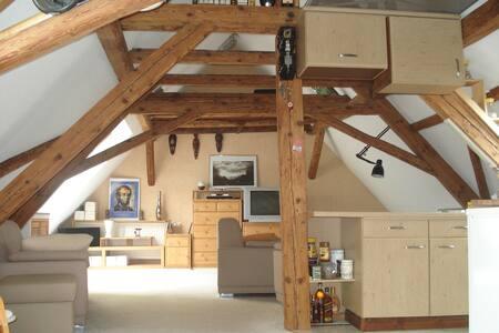 gemütliches Dachgeschoss-Apartment  - Jena - Apartment