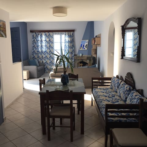 house up to 6pax with caldera and sunset view - Akrotiri - Villa