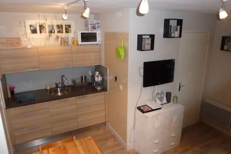Très beau studio état neuf - Allos - Apartmen