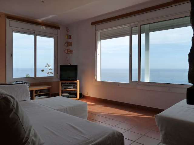 PLAYA, VISTA PANORÀMICA Y RELAX - Gerona - Appartement