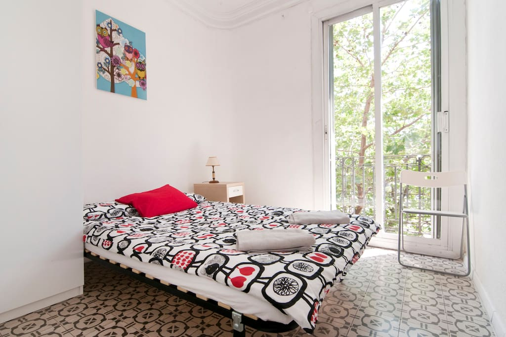 Bedroom №2 with doble bed for 2 persons