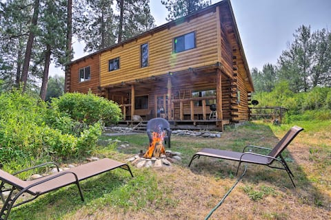 Rustic Idaho Cabin: 10.5 Mi to Payette Ntl Forest!
