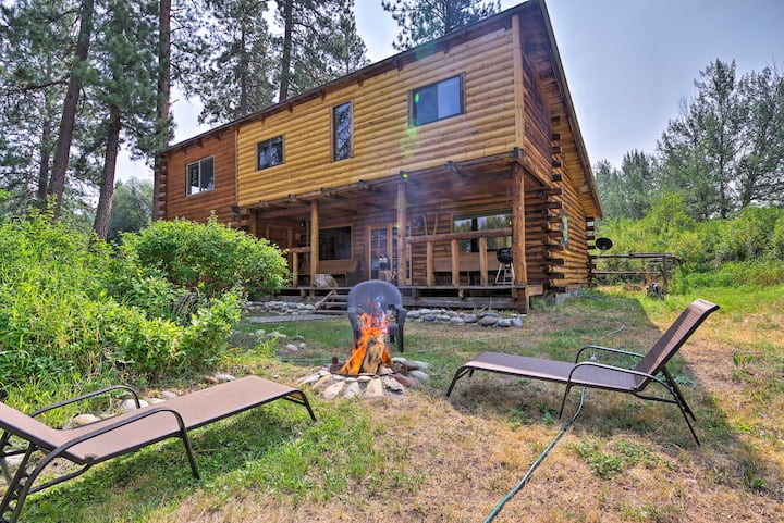 Rustic Idaho Cabin < 11 Mi to Payette Ntl Forest!