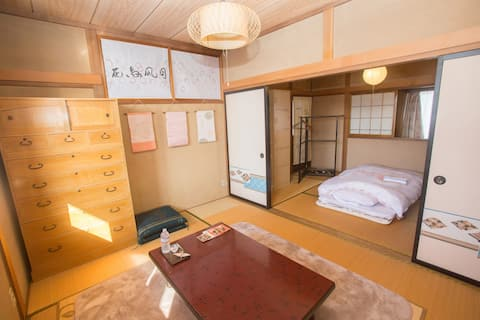 Central area in Hanawa. Clean and Friendly house