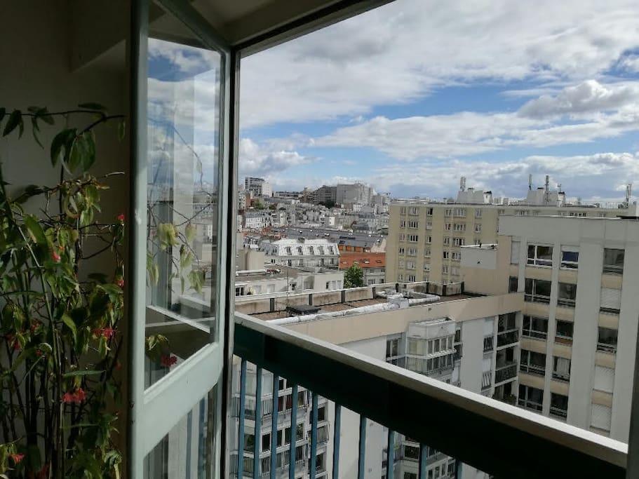Du salon, vue panoramique à 180°