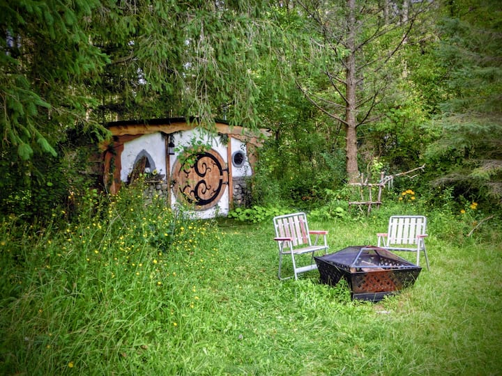 Stay a night at our tiny Hobbit House