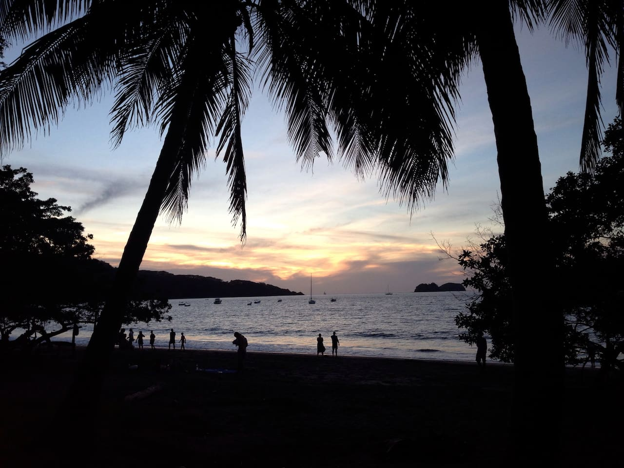 PLAYA HERMOSA'S SUNSET