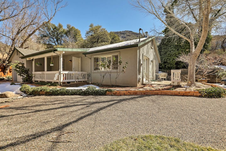 Tranquil & Scenic Sedona Home by Oak Creek Canyon!