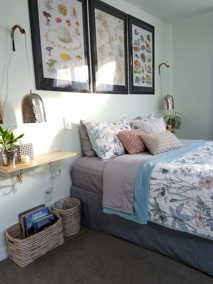 Peaceful Studio Sanctuary close to UO & Downtown