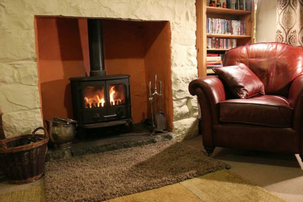 Cosy evenings in front of the log burner