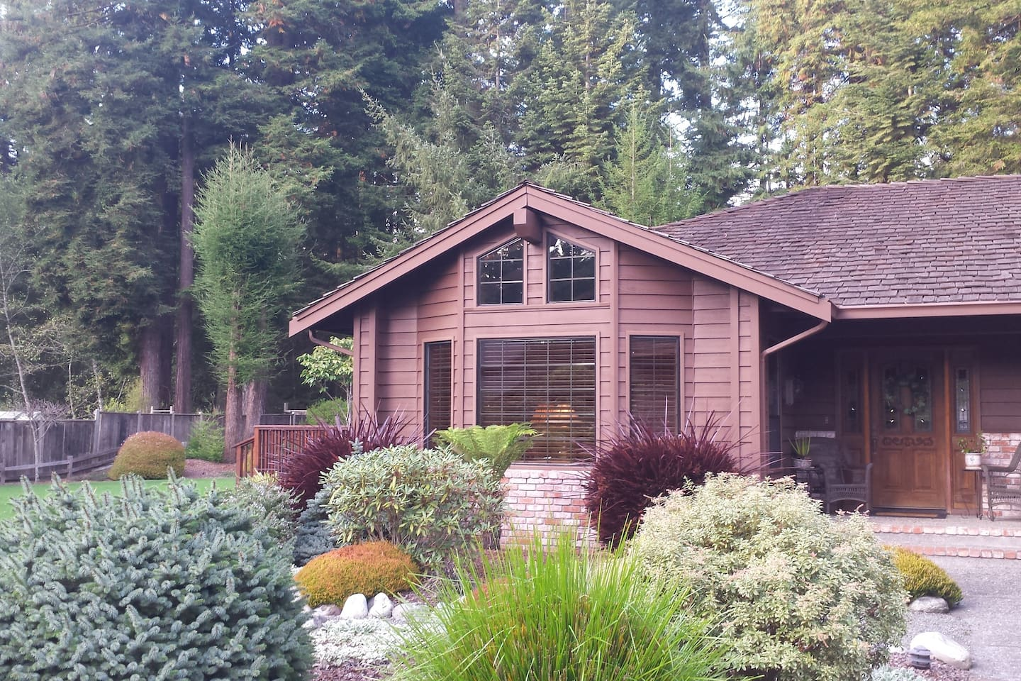Great home up the hill in the Redwoods in arcata