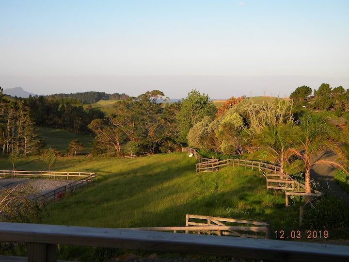 Laughing Horse Lodge - Animal friendly in Waipu